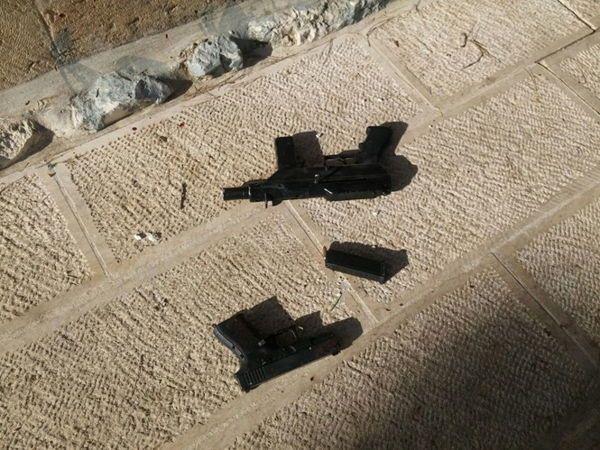 Arma usada por los terroristas musulmanes en Jerusalém