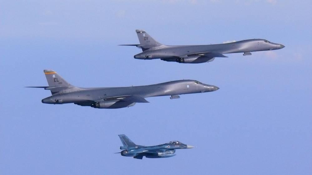 Dos bombarderos de EE.UU. sobrevuelan la península coreana