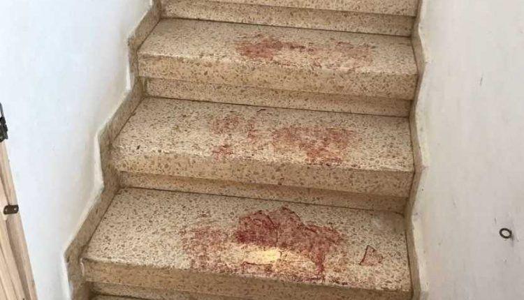 Escena del ataque islámico en Halamish. (Portavoz de las FDI)