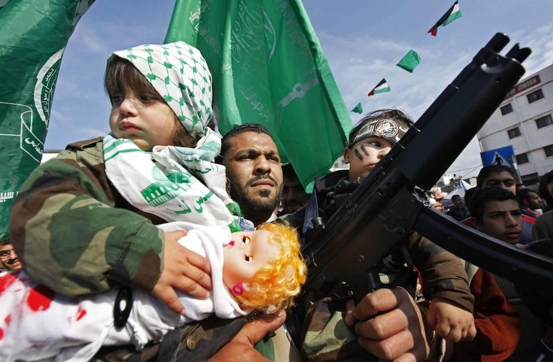 Escudos Humanos de Hamas