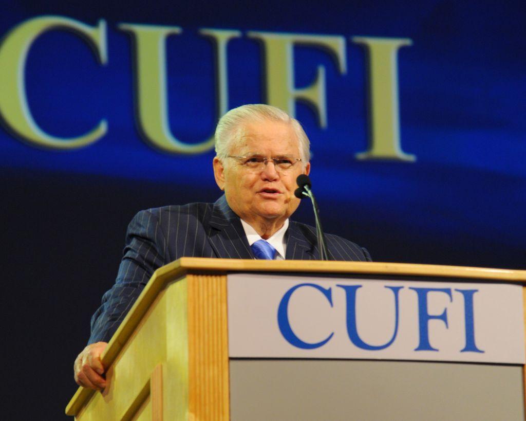 Pastor John Hagee en 2014 Cumbre CUFI (cortesía)