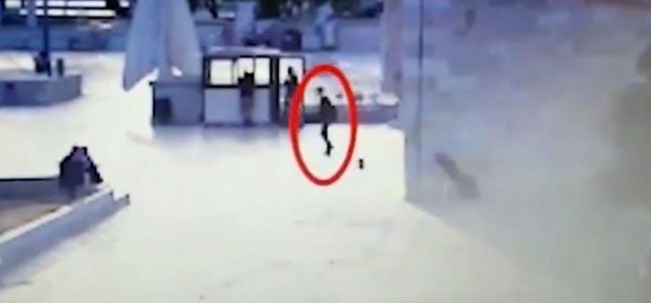 Vídeo muestra cómo los terroristas introdujeron sus armas al Monte del Templo