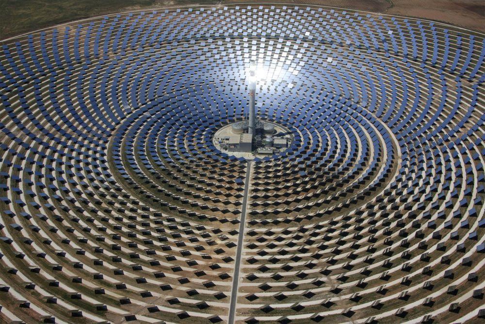 La planta de energía solar más grande del mundo, en Israel.