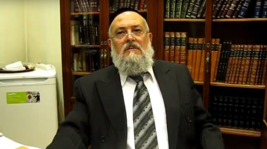 Rabbi Meir Bar Hen. (Captura de pantalla YouTube.com)