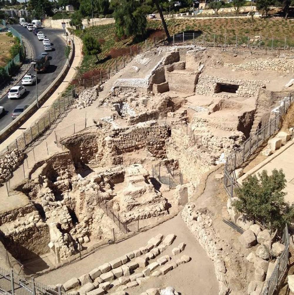 Vista desde los muros de la Ciudad Vieja de Jerusalém del lugar del hallazgo (Foto: Joel Kramer)