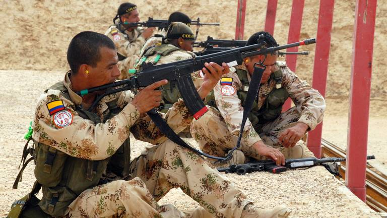 Batallón Colombia Foto: Fuerza Multinacional y de Observadores