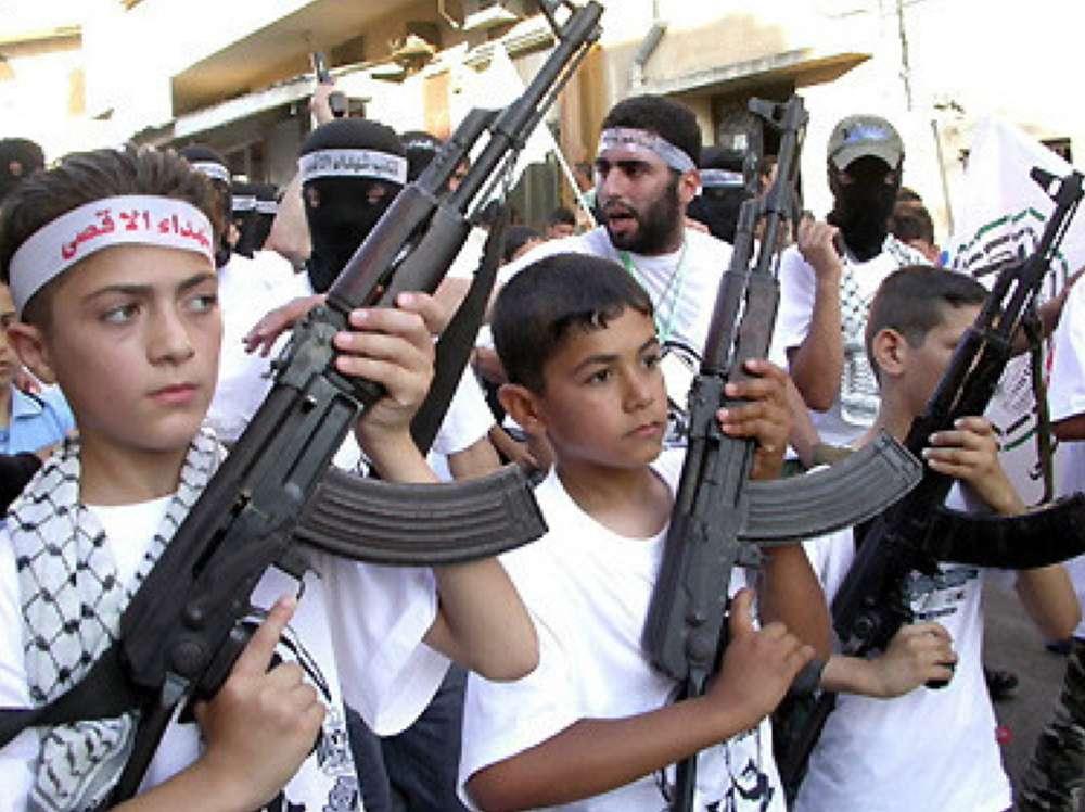 ataques terroristas de niños árabes aumentan