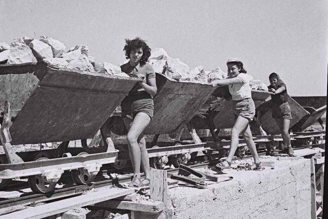 Ein Harod-Kibbutz (1941) | © Flickrbot / Wikicommons