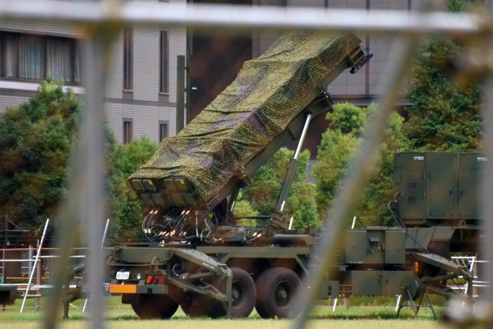 El sistema Patriot utilizado por Japón dispara el competente misil PAC-3, que sin embargo tiene un alcance reducido (AFP)