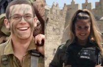 Sgt. Elhai Teharlev (L), quien murió en un atentado con automóvil el 6 de abril de 2017, y Hadas Malka, quien murió en un ataque terrorista el 16 de junio de 2017. (Cortesía: portavoz de las FDI)