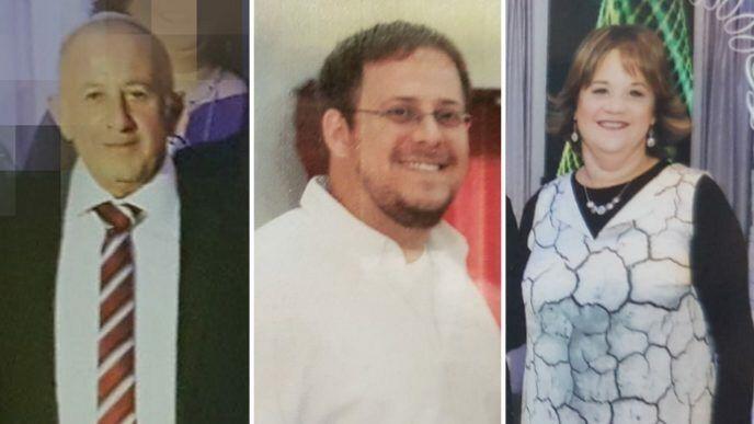 (De izquierda a derecha) Yosef, Elad y Jaya Salomon, quienes fueron apuñalados a muerte por un terrorista musulmán en el poblado judío de Halamish el 21 de julio de 2017. (Cortesía)