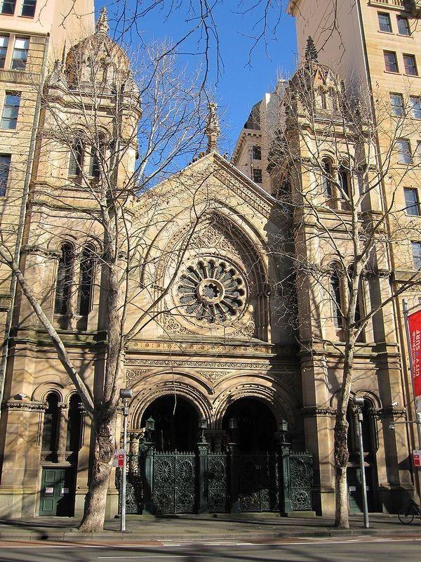 Gran Sinagoga de Australia (Wikimmedia Commons / J Bar)