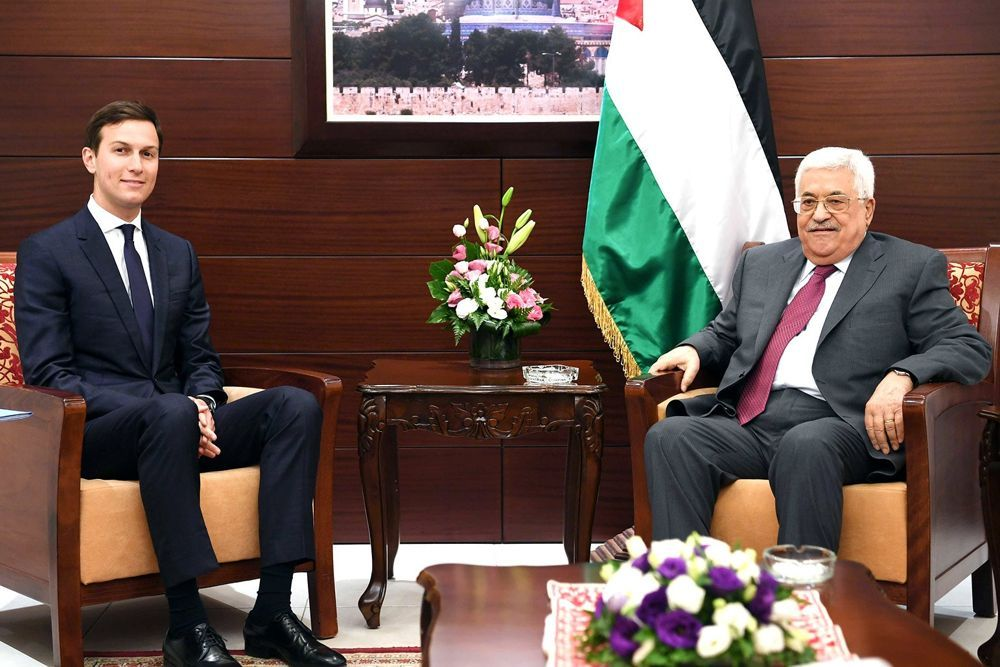"""""""Abbas acoge los esfuerzos de paz de Trump"""""""