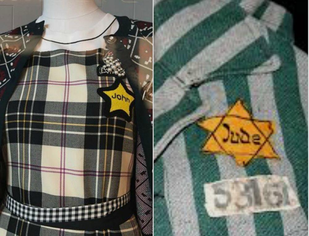 Polémica por un vestido similar a las ropas del Holocausto