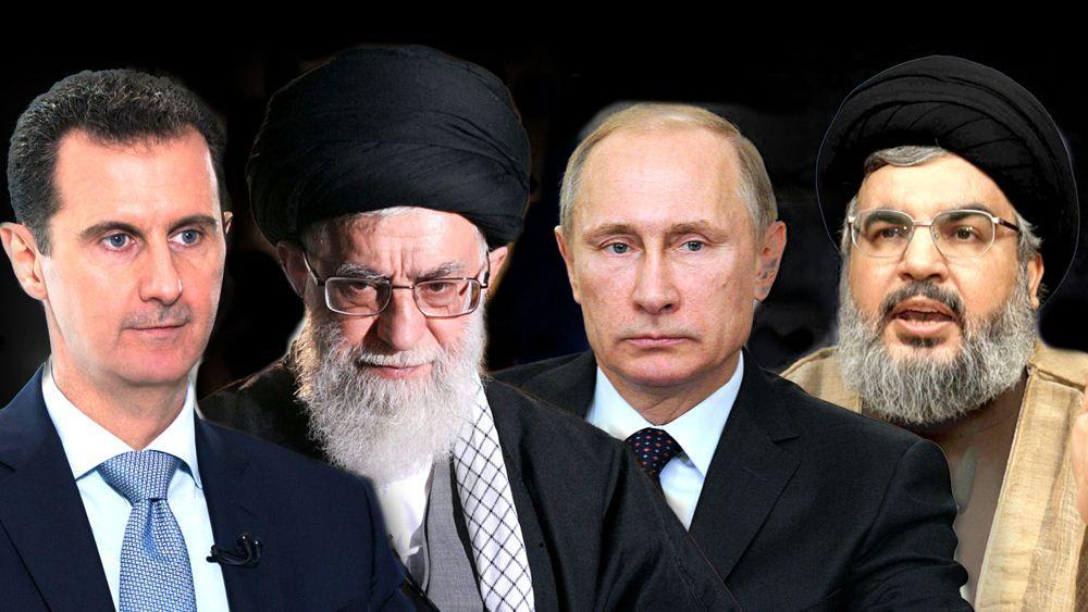Bashar al Assad agradeció a Rusia, Irán y al grupo terrorista Hezbollah