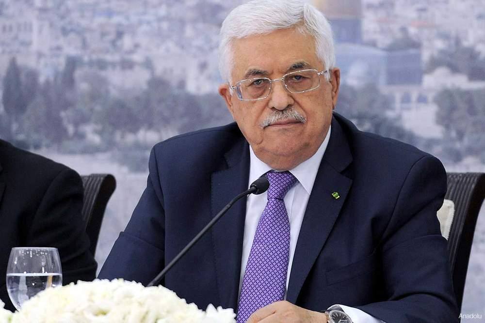 Presidente de la Autoridad Palestina Mahmoud Abbas (Abu Mazen)