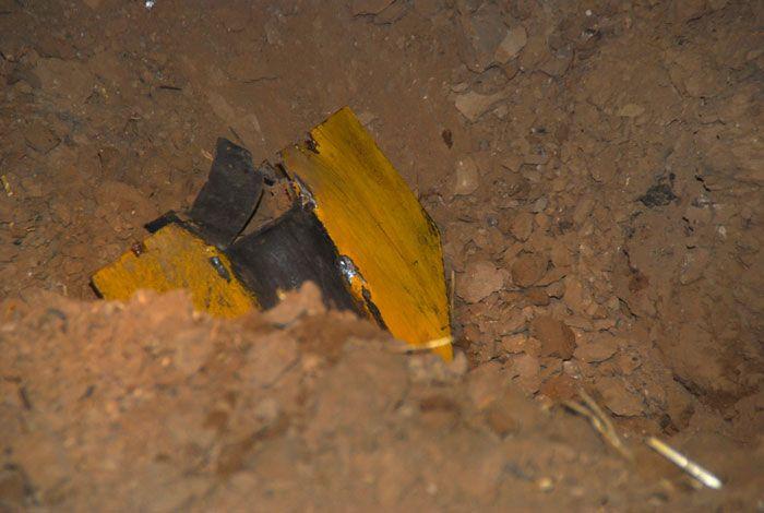 Un cohete disparado desde Gaza colisiona en Israel (Foto: שי מכלוף)