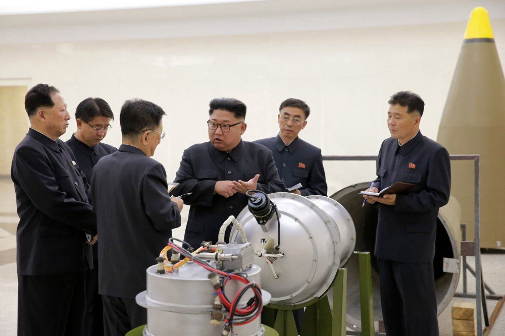 Bbomba de hidrógeno - Corea del Norte