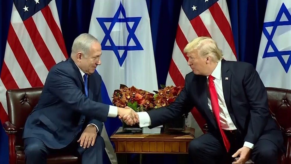 Trump y Netanyahu expresaron su esperanza por la paz en la reunión en Nueva York