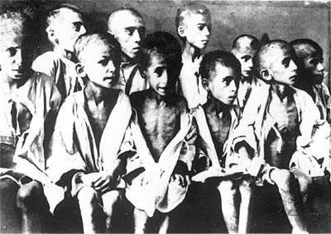 Niños en el Holocausto