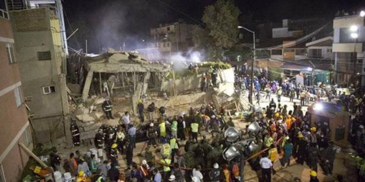 Murieron 32 niños en el colegio primario Rébsamen y aún quedan al menos 20 desaparecidos