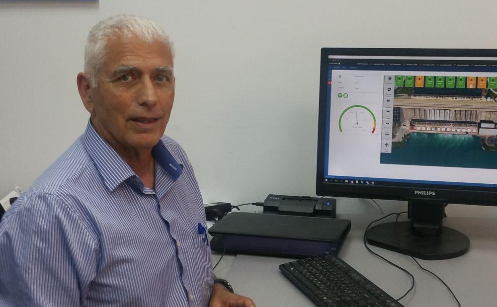 Doron Gover es un ex piloto de la Fuerza Aérea de Israel ahora a cargo del desarrollo corporativo de mPrest, una compañía tecnológica israelí que desarrolló la Cúpula de Hierro. (Cortesía: mPrest)