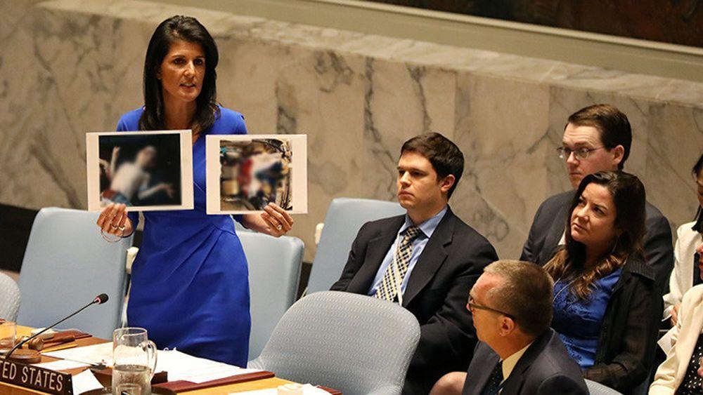 Nikki Haley en la ONU (Foto de: Shannon Stapleton / Reuters)