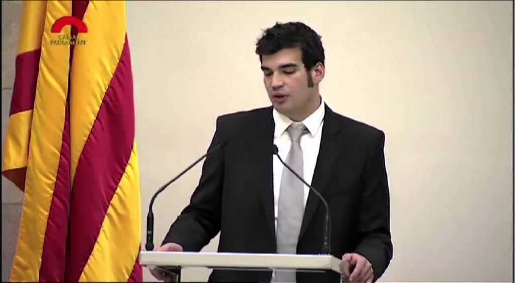 Portavoz de la comunidad judía de Barcelona Victor Sorrenssen (Captura de pantalla / YouTube)