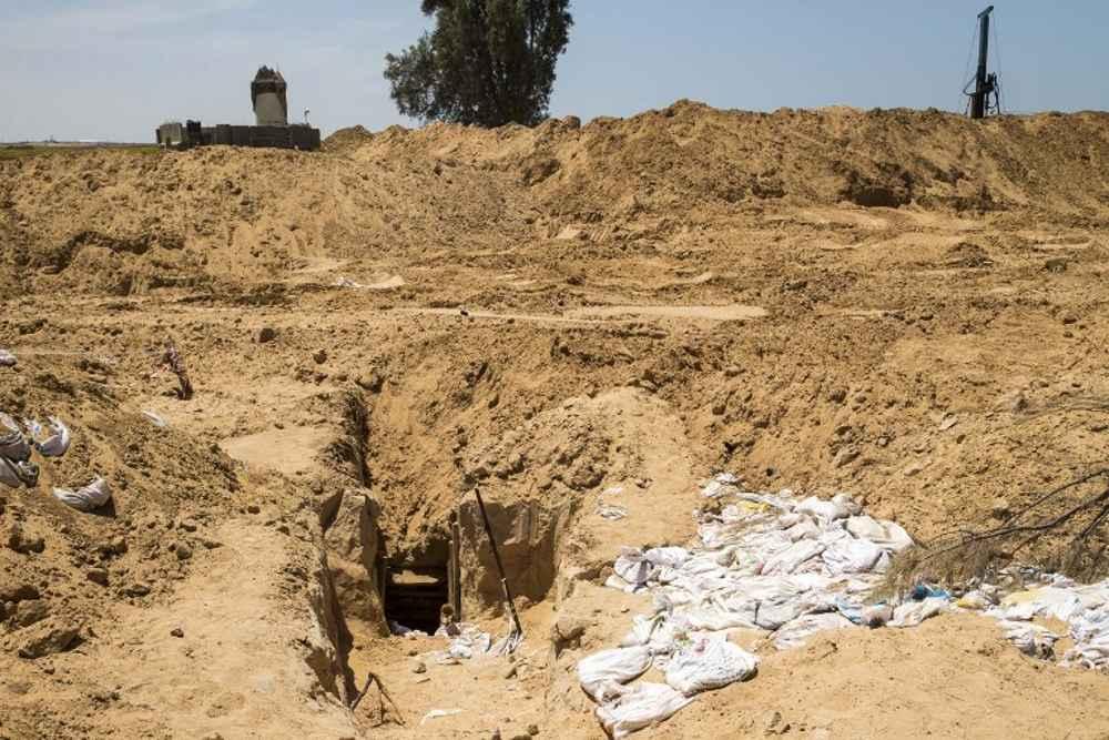 Túnel del terror de Hamas