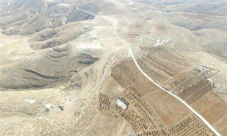Carretera ilegal financiada por la Unión Europea atraviesa Israel.