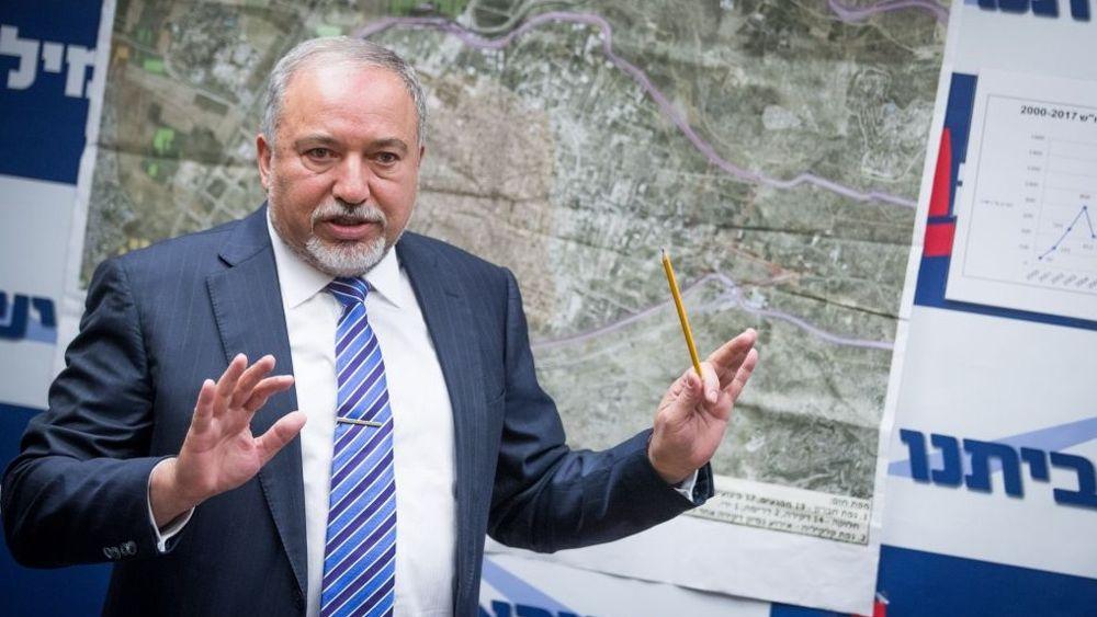 Liberman advierte a Siria después del derribo de un avión no tripulado cerca de la frontera