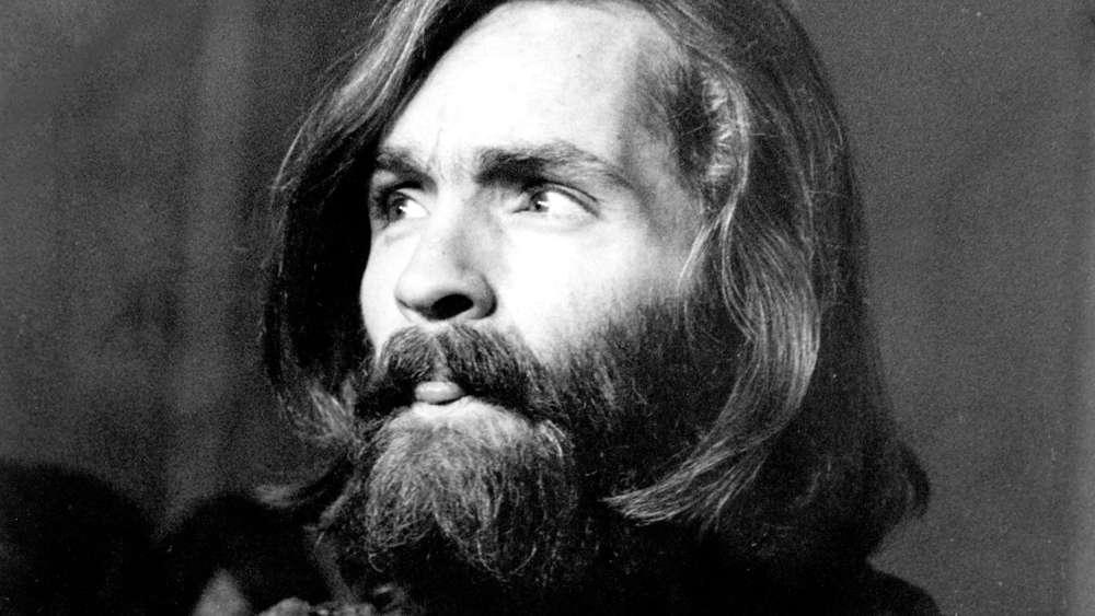 Manson durante una entrevista