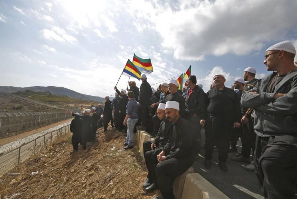 Drusos intentar entrar en Siria procedentes de Israel para luchar por Hader
