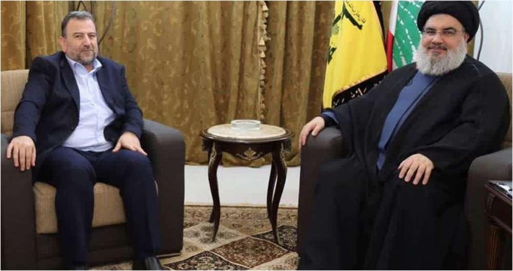 """Líder de Hamás y de Hezbollah se reúnen en Beirut para discutir la """"resistencia contra la ocupación sionista"""""""