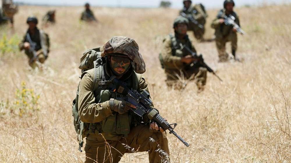 Un soldado israelí fue herido por fuego perdido proveniente del Sinaí