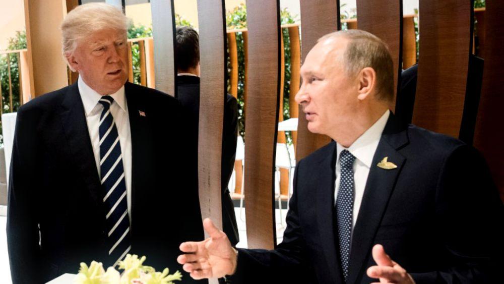 Vladimir Putín y Donald Trump en la cumbre del G20 (Reuters)