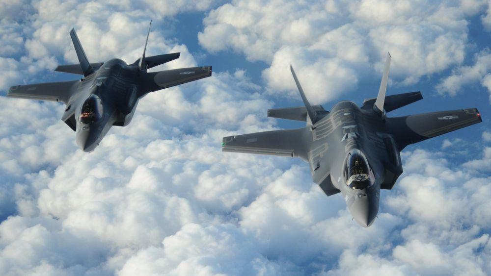 Los F-35 sobrevuelan en el 70 Día de la Independencia de Israel