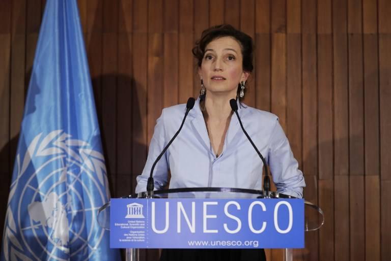 """Directora de la UNESCO recibe el aviso de retirada de Israel: """"Lamento esto profundamente"""""""