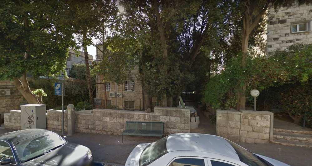 El edificio que alberga el consulado guatemalteco en Jerusalém. (Google Street View)