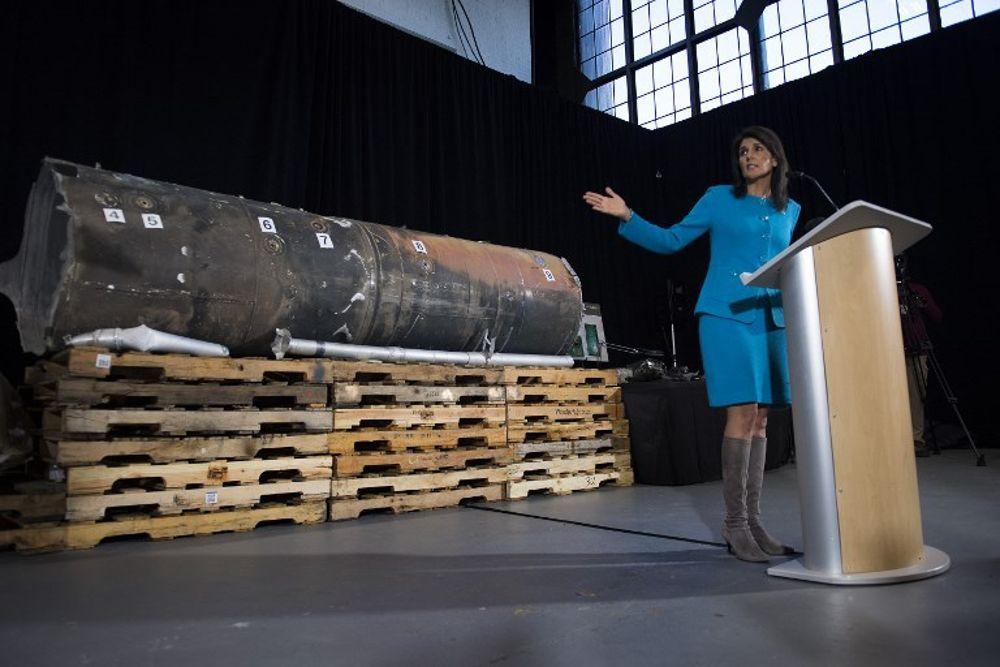 EE.UU presenta pruebas irrefutables: Irán armó a los rebeldes de Yemen con misiles