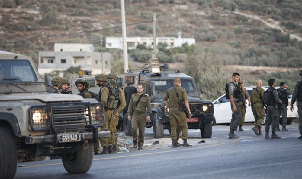 IDF disparó a terrorista islámico que intentó ataque de apuñalamiento en Samaria