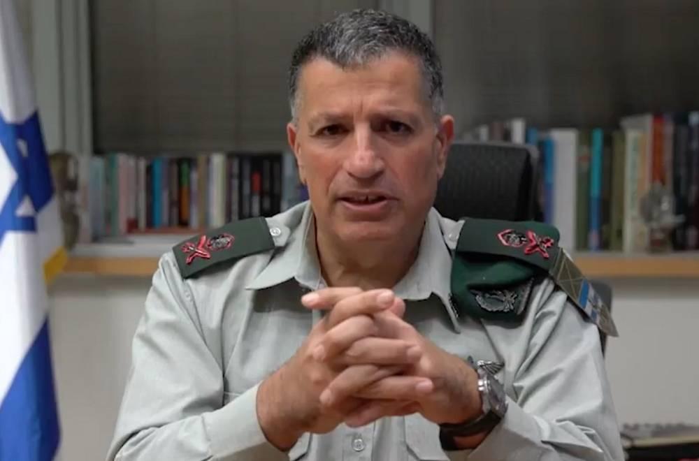 El Coordinador del Ministerio de Defensa de las Actividades del Gobierno en los Territorios, Mayor General Yoav Mordechai. (Captura de pantalla)