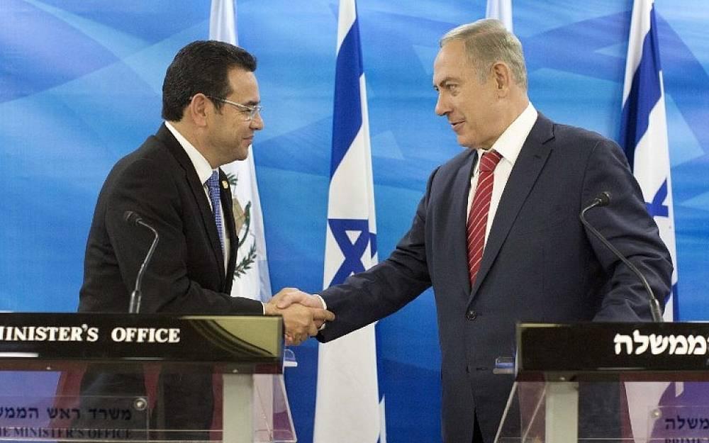 "Netanyahu: ""D'os bendiga a Guatemala"""