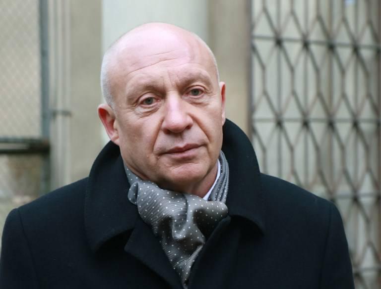 Renaldas Gudauskas, jefe de la Biblioteca Nacional, en Vilnius el 9 de noviembre de 2017. (AFP / Petras Malukas)