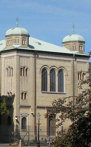 Sinagoga de Gotemburgo (Gumisza / Wikipedia)