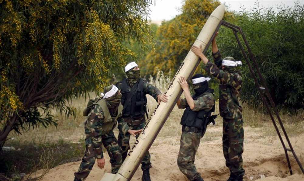 Cohete disparado desde Gaza al sur de Israel