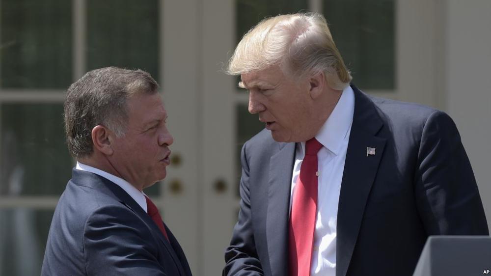 """Trump también comunicó a Jordania su """"intención"""" de trasladar a la embajada"""