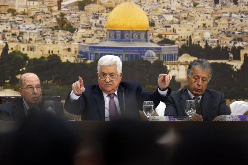 "Abbas habló de la ""bofetada del siglo"" de Trump y prometió ""devolver el golpe"""