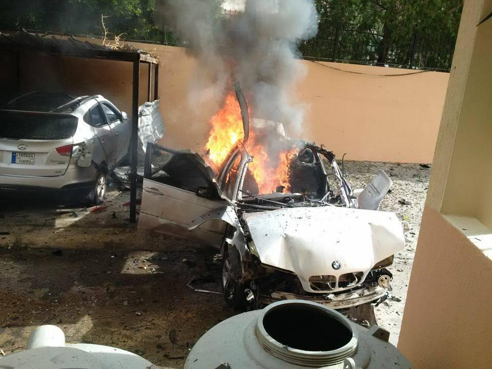 Mohammad Hamdan alto oficial de Hamás en Líbano herido tras estallar su BMW