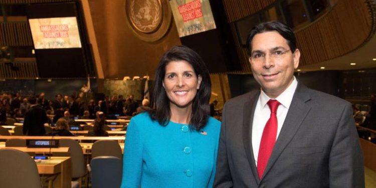 Haley promueve resolución de la ONU contra Hamas